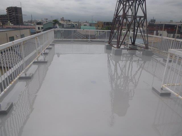 雨漏り修理お客様のお声 賃貸で住んでもらっている方が、台風のたびに雨漏りに困っていた。